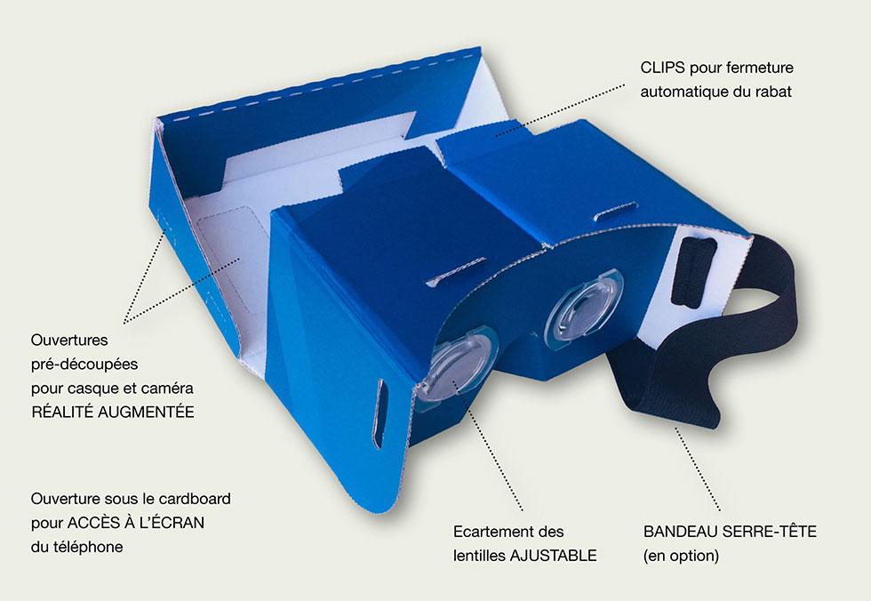 Cardboard personnalisé Tridimax