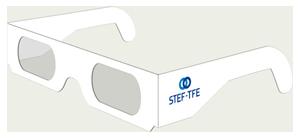 Lunettes 3D ChromaDepth 3D carton personnalisées