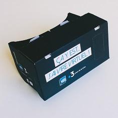 Google cardboard personnalisé