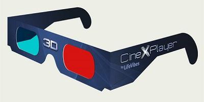 lunettes anaglyphes 3D