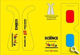 Encarts avec lunettes 3d détachables - Pour la science